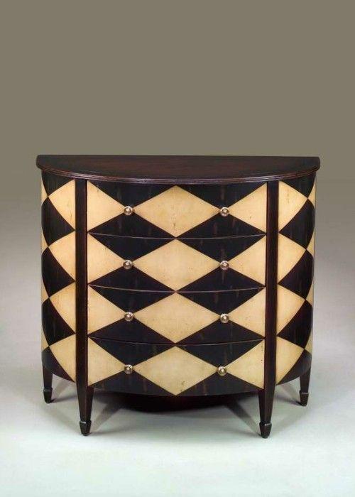 Harlequin Pattern idea for furniture