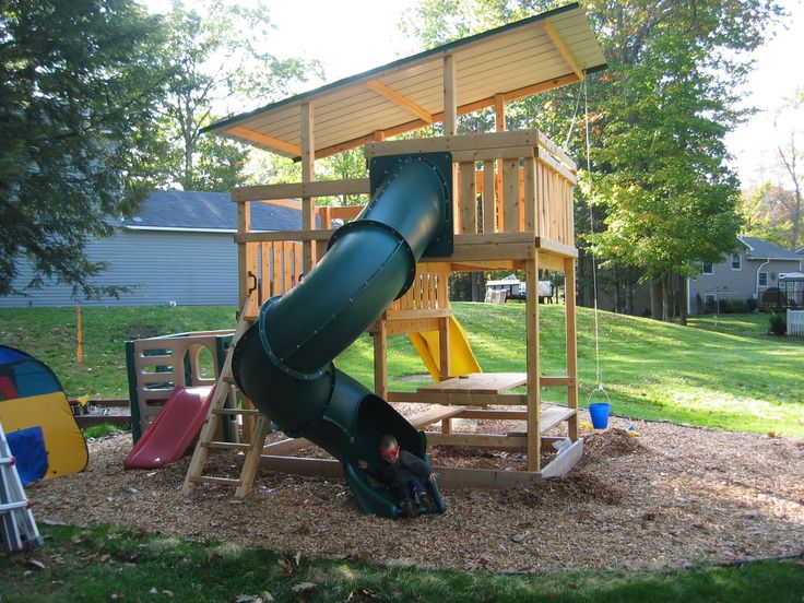 Best 25 swing set plans ideas on pinterest swing sets for Build your own wooden playset
