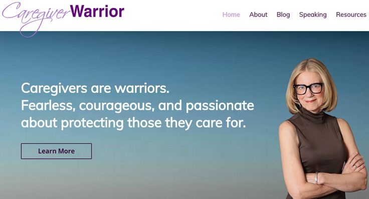 Visit the new Caregiver Warrior website for resources, tips and stories from the Caregiver Warrior herself.