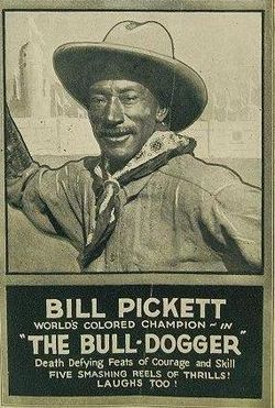 William (Bill) Pickett was a legendary cowboy from Taylor, Texas of black and Indian descent. He was born December 5, 1870, five years after the end of the Civil War.