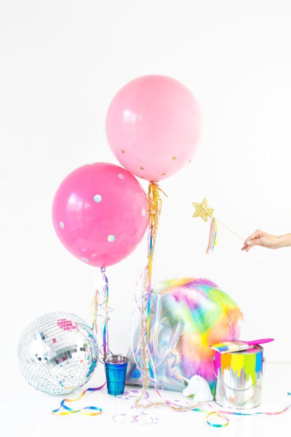 DIY Unicorn Balloons | studiodiy.com