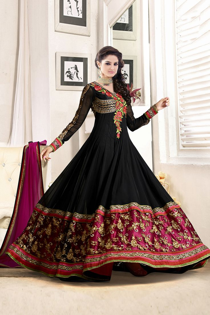 126 best Anarkali Suits images on Pinterest | Online shopping ...