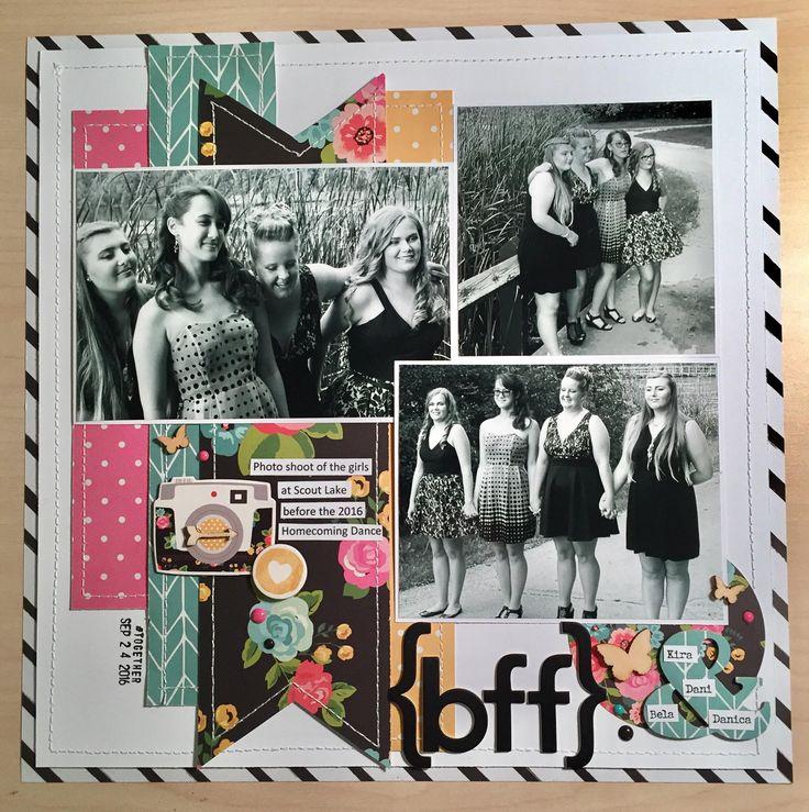 Cute scrapbook ideas for best friends