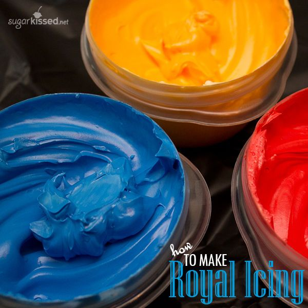 This is my favorite royal icing recipe! It doesn't dry rock hard yet it's sturdy enough for stacking and shipping.