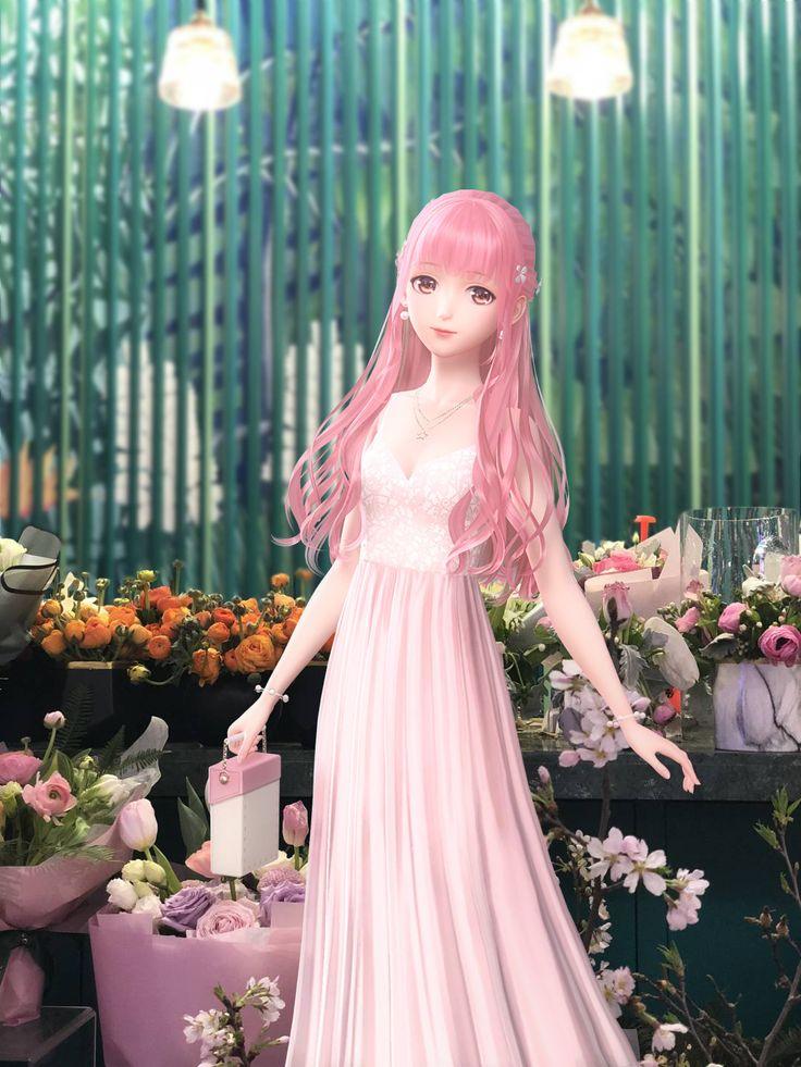 #DressupGame #闪耀暖暖 #ShiningNikki #Nikki3D #Orangecatty #FBNikkiเซิฟจีน ((All Versions )) – Pink hair girl