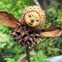 Using natural plant materials found in my yard, I created garden fairi… :: Hometalk