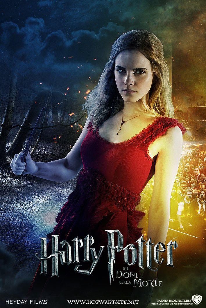 Hermione Granger Pt 1 Deathly Hallows Extended By Hogwartsite Heiligtumer Des Todes Filmposter Hermine Granger
