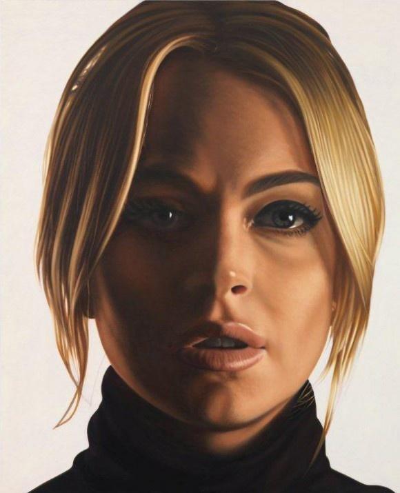 Lindsay V by Richard Phillips (2012)