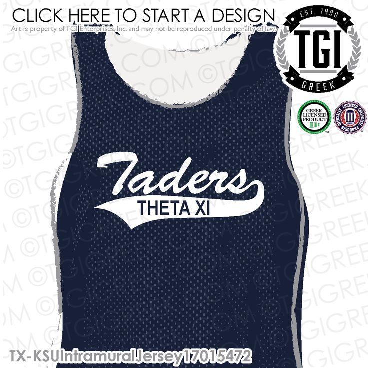 Theta Xi | ΘΞ | Intramural | Intramural Jersey | Fraternity Intramural | TGI Greek | Greek Apparel | Custom Apparel | Sorority Tee Shirts | Sorority T-shirts | Custom T-Shirts