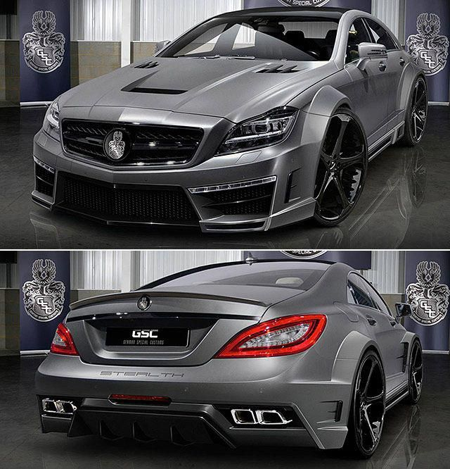 Mercedes Benz Cls 63 Amg Stealth By Gsc Mercedesbenzclassiccars