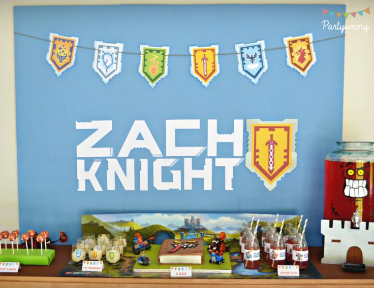 """Lego Knights Party / Birthday """"Nexo Knights Party""""   Catch My Party"""