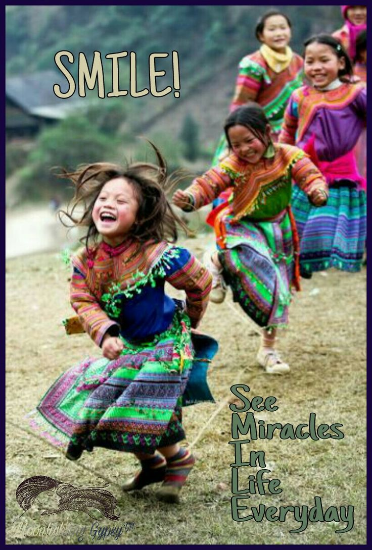Smile ~ See Miracles In Life Everyday ⊰♡⊱