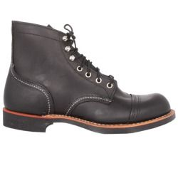 Review 6 Inch Iron Ranger Boot in Black Harness - designed by Red Wing Shoes price - The 8114 is as tough as the iron miners that wore them. Classic 6