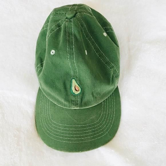 AESTHETIC Avocado Cap hat buy GREEN boogzel apparel