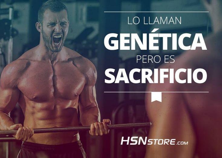 Lo llaman genética pero es sacrificio. #fitness #motivation #motivacion #gym…