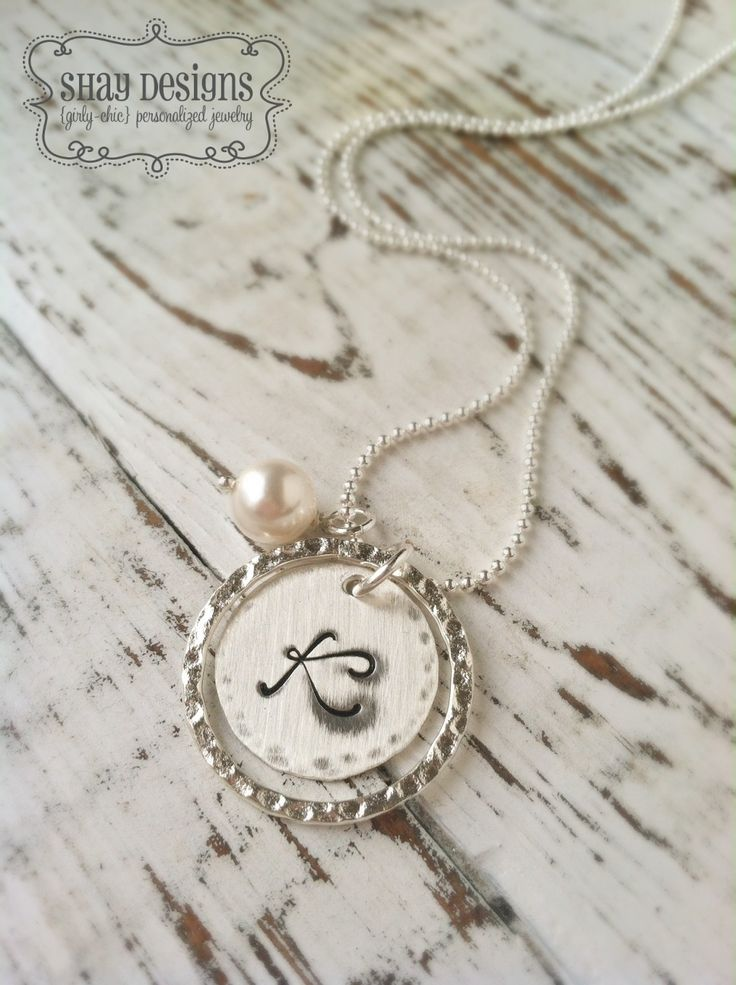 WIN Customized Hand Stamped Jewelry by Shay Designs! http://www.thetomkatstudio.com/handstampedjewelrygiveaway/