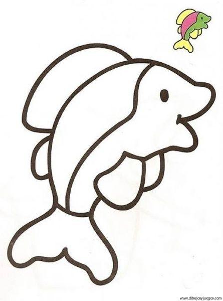 pez-04 | Dibujos y juegos, para pintar y colorear