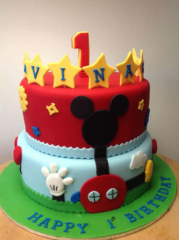 Rd Mickey Mouse Cake