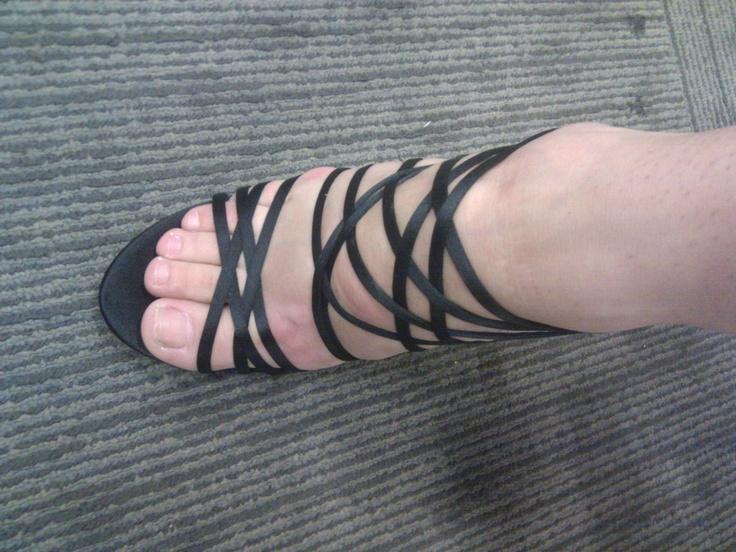 Top shot Nancy's shoes