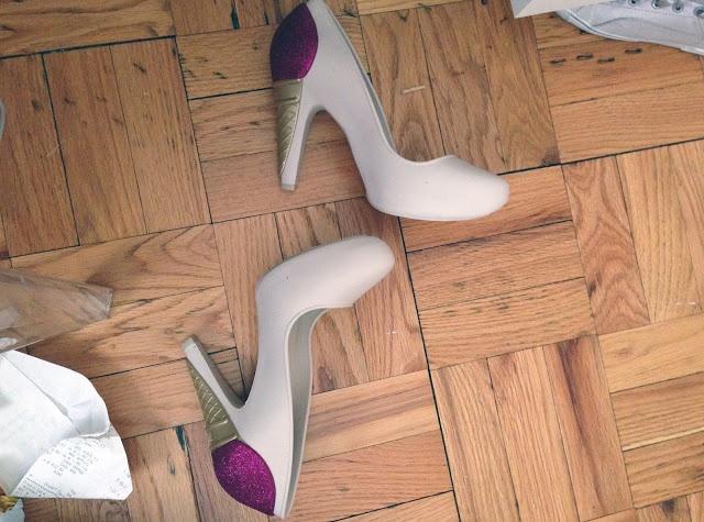 Karl x Mellisa shoes.