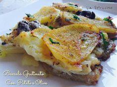 Il baccala' gratinato, con il suo profumo invitante ed il sapore intenso e gustoso, può essere un'alternativa ai soliti secondi di carne della domenica...