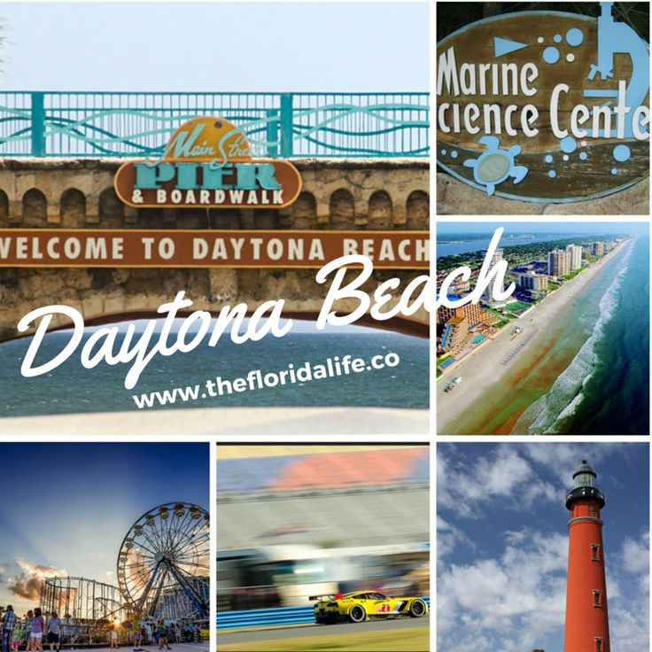 "There is so much to see and do in Daytona Beach, Florida. In the words of Cheryl Crow, ""I want to soak up the sun!"""