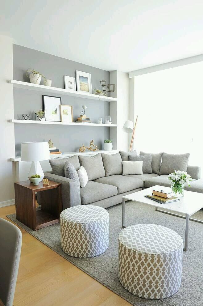 Living Room Idea   Like The Pouf/footstools Part 52