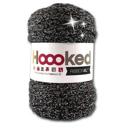 Ribbon XL lurex är en återvinningsprodukt baserad på överskott från modeindustrin. Ribbon XL är en stickad trikåväv av 80% bomull, 20% övriga fibrer.