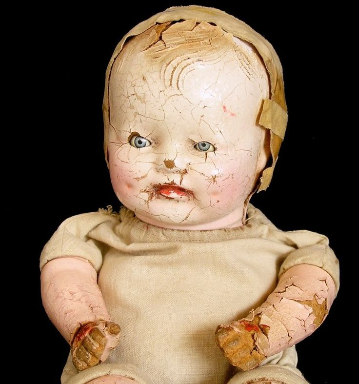 15 Best Images About Creepy Old Dolls On Pinterest