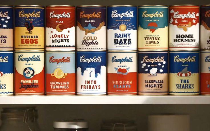 キャンベルスープが試みる、ポジティブな新広告スローガン