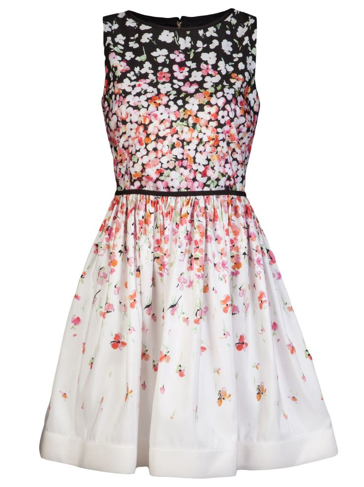 Red Floral Valentino dress