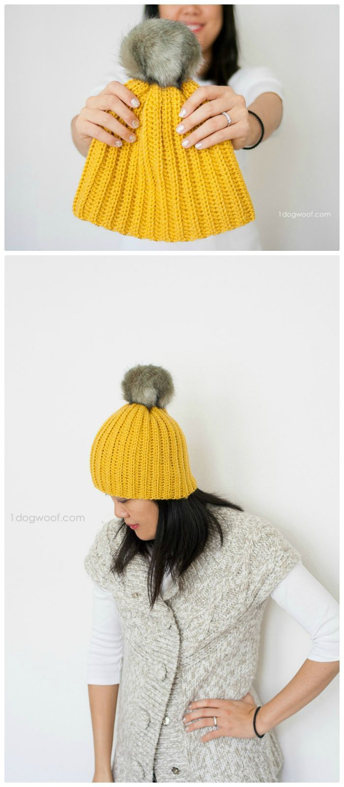 1356 best Gorros images on Pinterest | Crochet hats, Beanies and ...