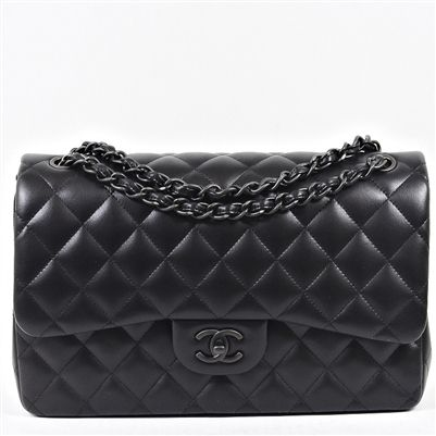 Chanel 'So Black' Classic Flap