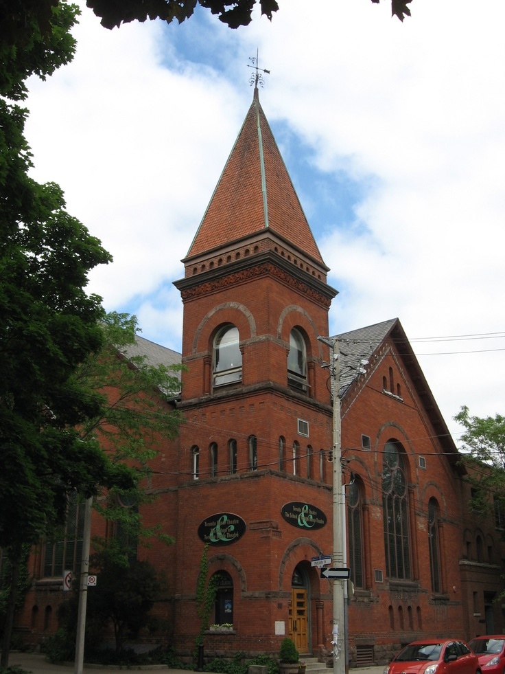 In the heat of Cabbagetown at Winchester and Metcalfe, there lies the Toronto Dance Theatre and School.  In a converted Victorian Church