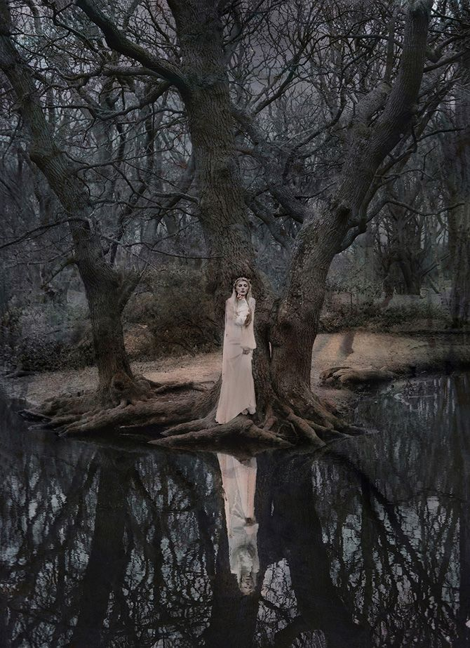 Katie Eleanor #bleaq #photography #ethereal
