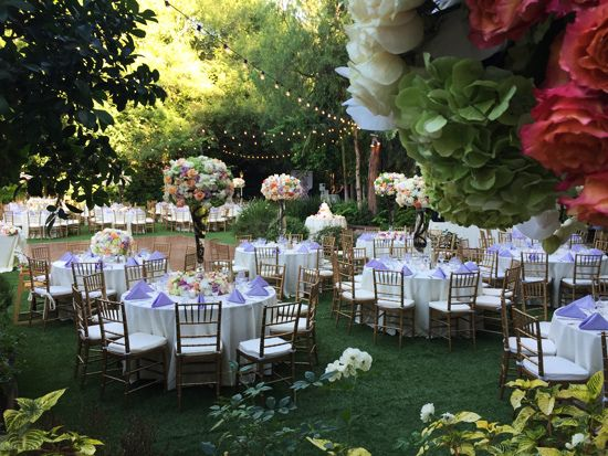 Fairytale Outdoor Wedding Venue In Southern California