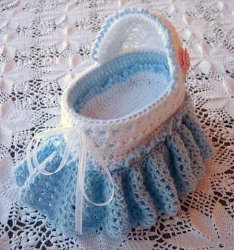 Baby Bassinet Crochet Pattern on Etsy, $6.99