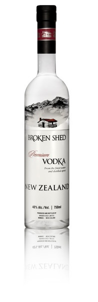Broken Shed Vodka Debuts in the US // The crisp New Zealand vodka finally hits the states!