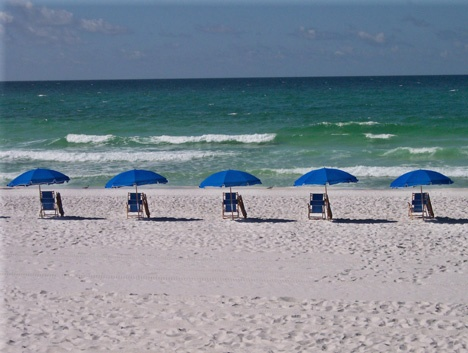 Beautiful White Sandy Beaches On The Okaloosa Island Fl Voted Top 10 In
