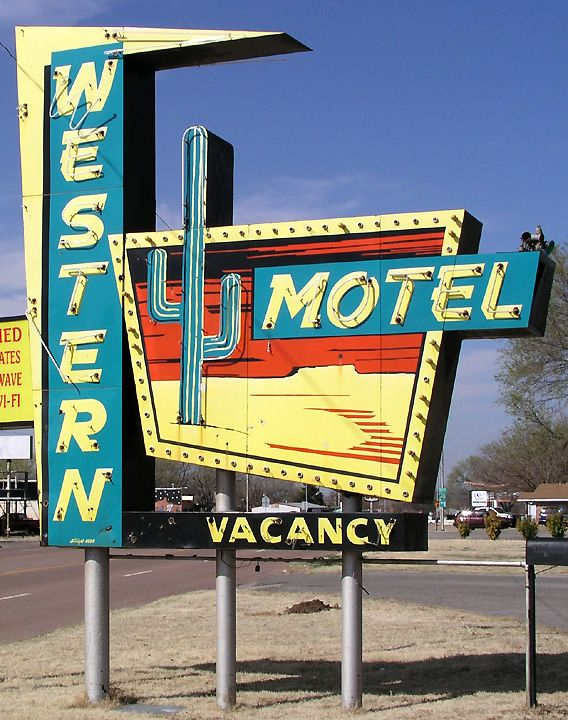 Western Motel, Route 66 - Sayre, Oklahoma