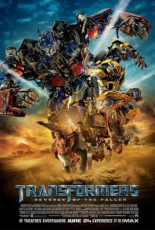 Transformers: Revenge of the Fallen - 1 time - with Ty, Cody, Jamie, and Ben