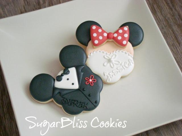 SugarBliss Cookies - Bride Groom