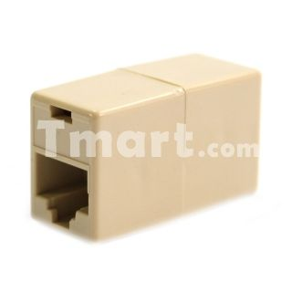CAT5 RJ45 Network Cable Extender Plug Coupler Joiner