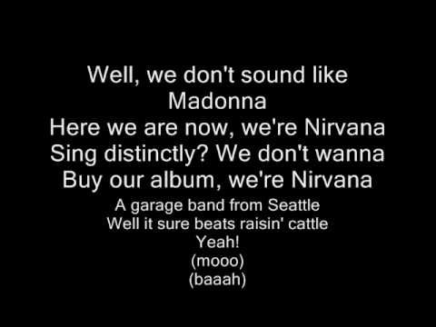 1000 ideas about nirvana lyrics on pinterest kurt cobain quotes bands and nirvana quotes - Nirvana dive lyrics ...