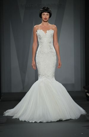Mark Zunino - Sweetheart Mermaid Gown in Lace