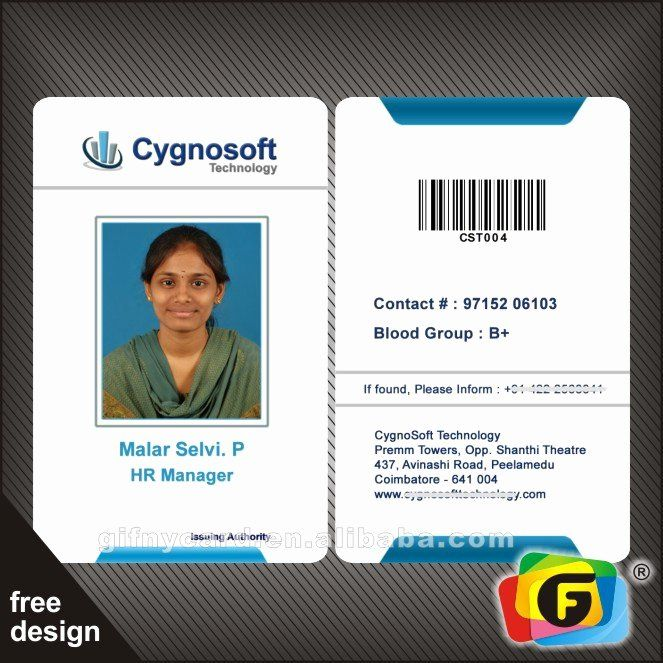 Sample Identity Card Luxury Free Samples Pany Staff Identity Card Buy Pany Identity Card Design Cards Create Business Cards