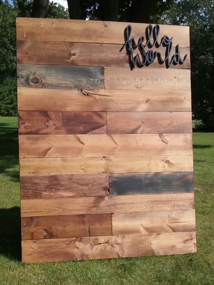 free standing pallet wall celery city trading company vintage events rentals clothing. Black Bedroom Furniture Sets. Home Design Ideas