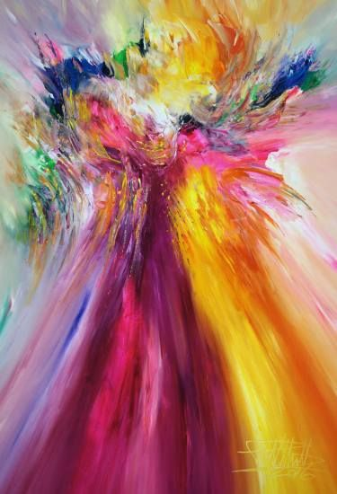 "Saatchi Art Artist Peter Nottrott; Painting, ""Joyful L 1"" #art"
