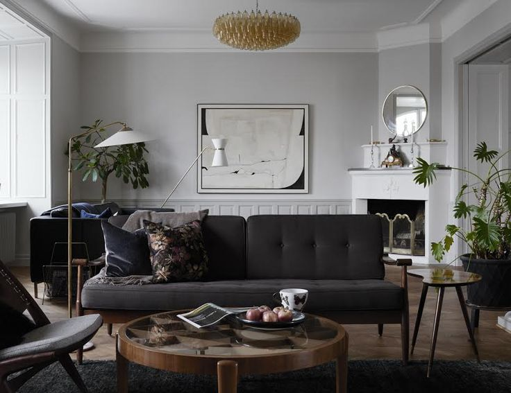 Kinfolk's latest book takes us on a global tour of thoughtfully composed houses; join us for a look at a luminous, low-key Swedish apartment with a mix of vintage and new furniture and Scandinavian art.