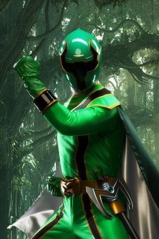 Green Power: Power Rangers Mystic Force Green Ranger